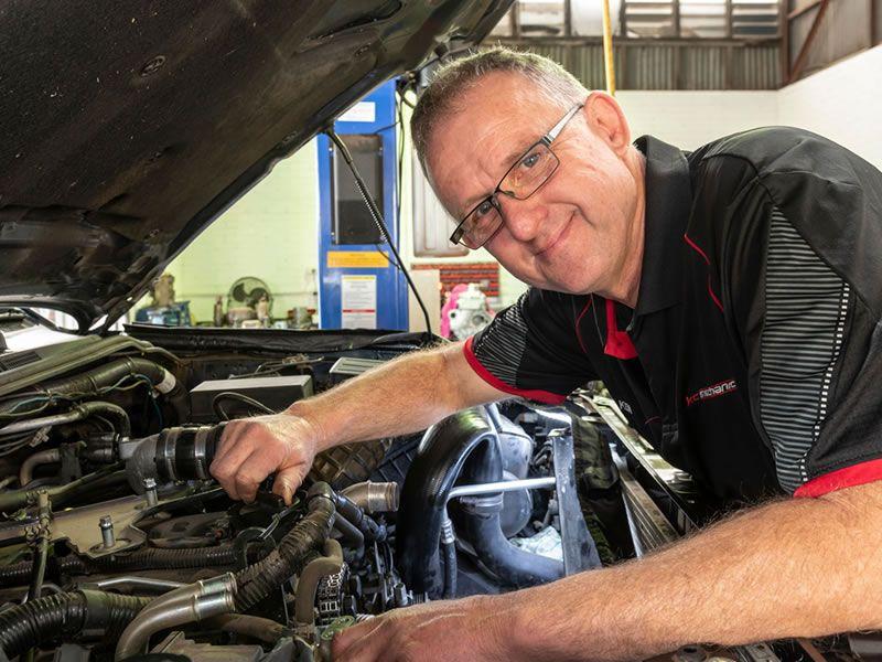 Kc Mechanical Toowoomba based mechanic staff